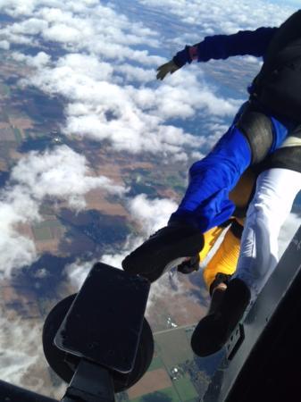 Skydive Finger Lakes: cowabunga!