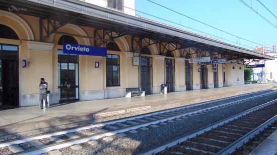 Orvieto Rail Station: Estação Orvieto