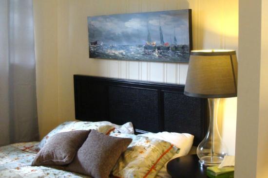 Huron Haven Motel Room Bed