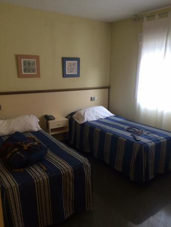 Hotel Velilla: Beds