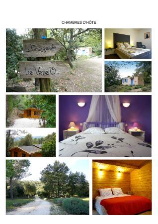 Signes, Francja: Cottages extérieur et intérieur