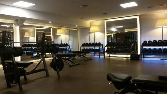 salle de fitness picture of nh collection madrid eurobuilding madrid tripadvisor
