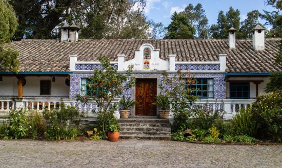 Hacienda Cusin: Hotelanlage