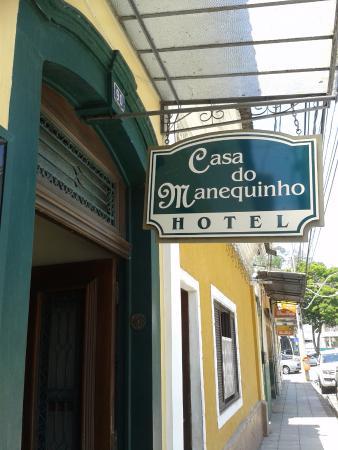 Casa Do Manequinho Hotel: Fachada