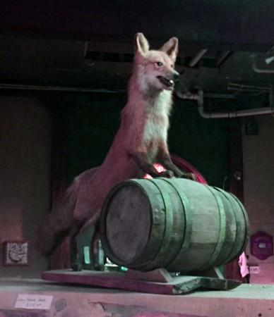 Copper Fox Distillery: Distillery Mascot