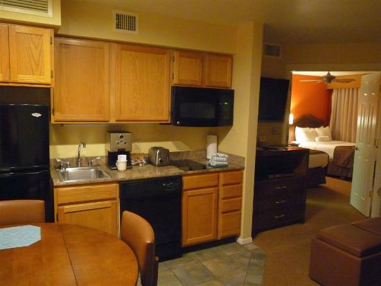 Villas de Santa Fe: Küche