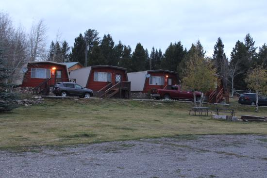 Island Park, ID: The older slightly larger cabins