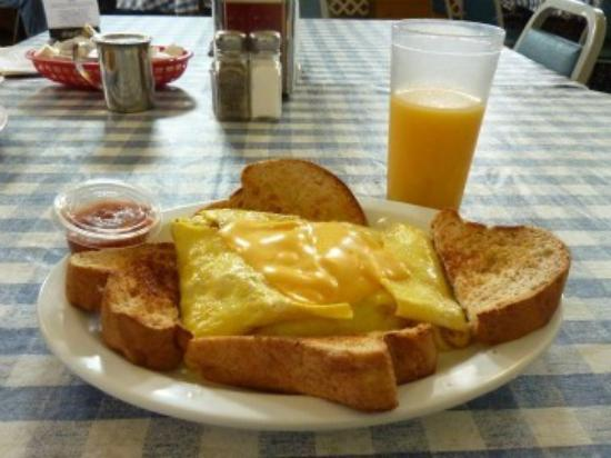 Marion Cafe: Breakfast Omelet