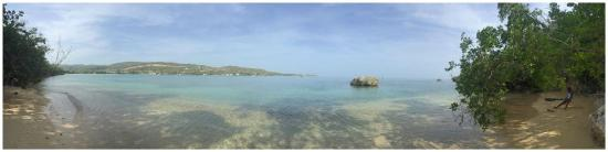 Priory, Jamaica: beach