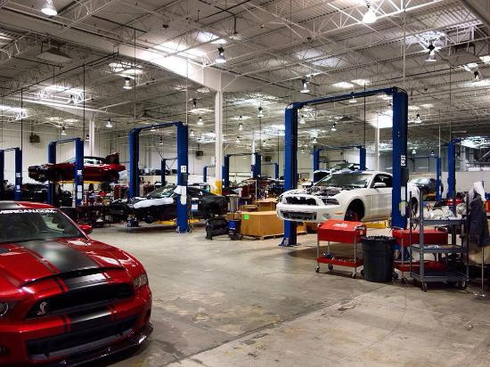 Shelby American Factory Tours