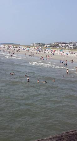 Mid Beach: view from  pier