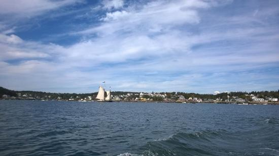 ‪‪Stonington‬, ‪Maine‬: View from the boat‬