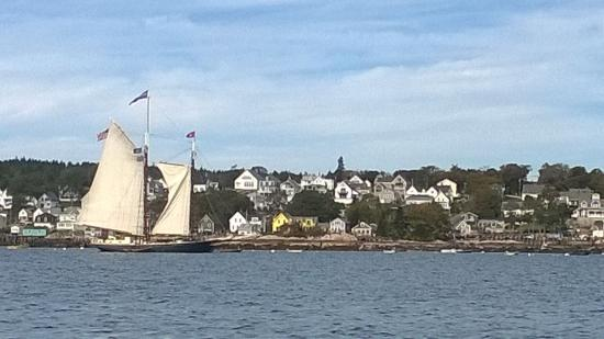 Stonington, ME : View from the boat