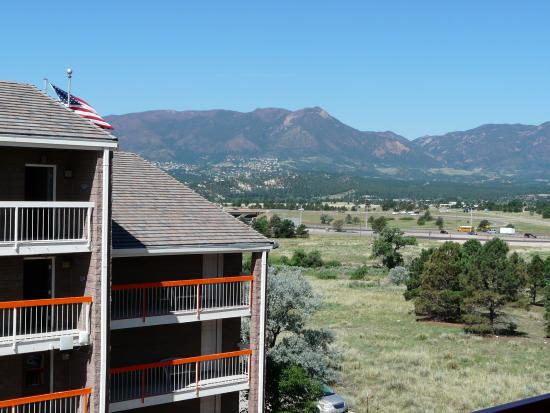 Howard Johnson Colorado Springs : View from balcony.
