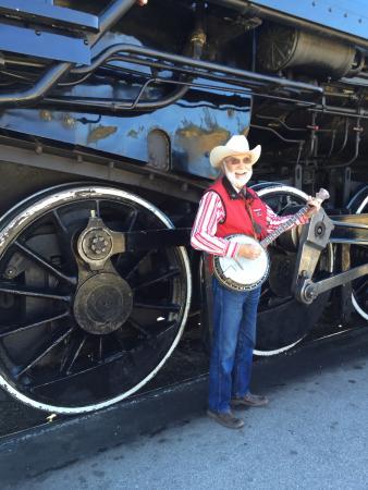 Summerland, Kanada: Kettle Valley Banjo player