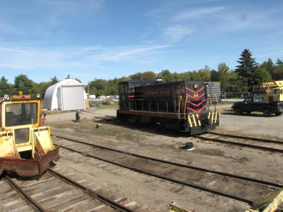 Downeast Scenic Railroad: Maintenance Yard