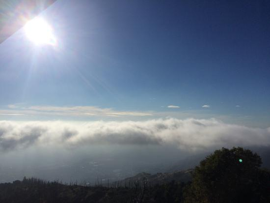 Palomar Mountain State Park: Wonderful view and very friendly staff on the fire tower.