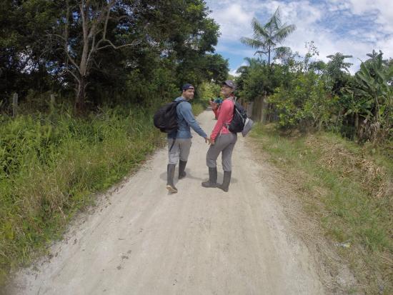 Allpahuayo Mishana National Reserve: Lots of walking....