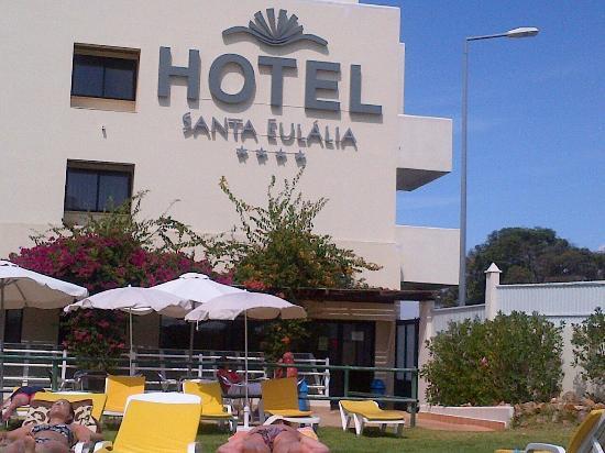 Santa eulalia hotel apartamento spa picture of santa for Appart hotel 41