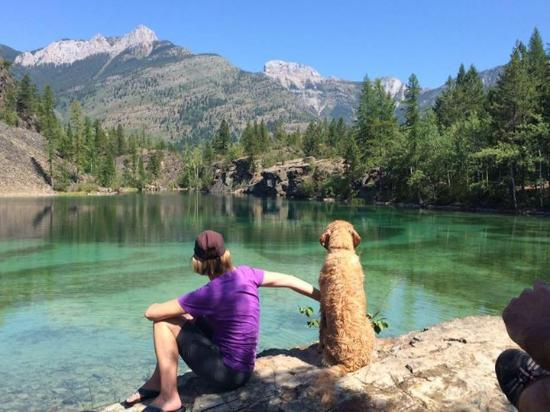 Fernie Alpine Resort: An alpine lake 30 min away ...summer 2015