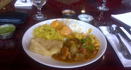 Cafe Spice/Indian Cuisine : the spread