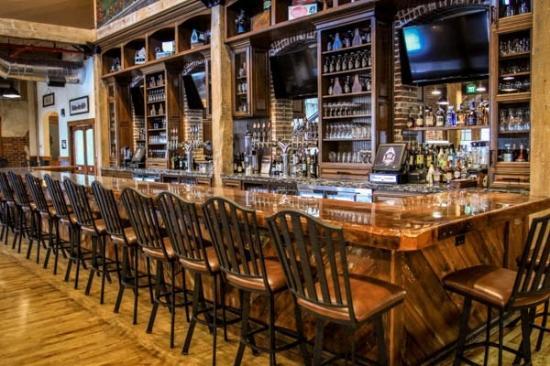 Rusty Rail Brewing Company Bar And Pub Area
