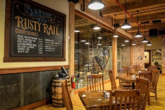 Rusty Rail Brewing Company Brewery