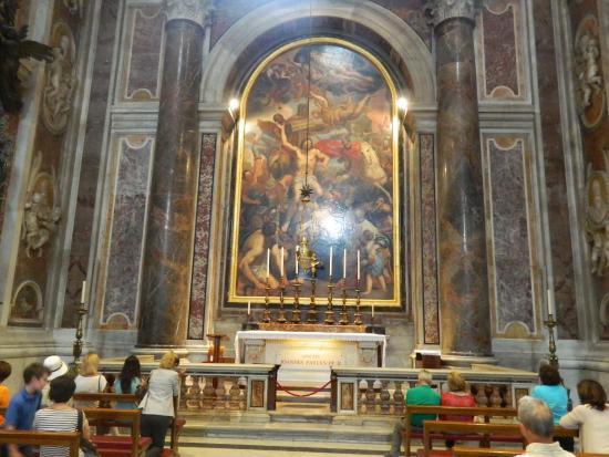 Tomba di Giovanni Paolo II