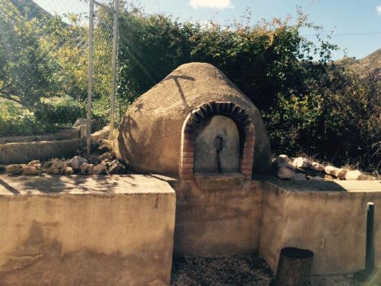 Blanca, Spania: horno de barro!