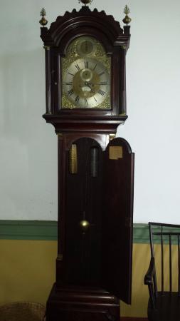 Chief Vann House Historic Site: Original Clock from England