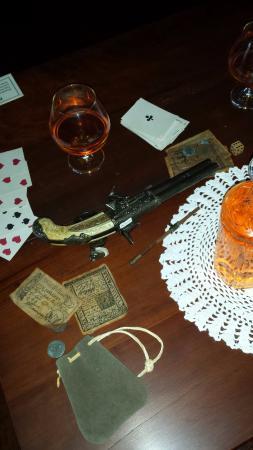 Chief Vann House Historic Site: Card table