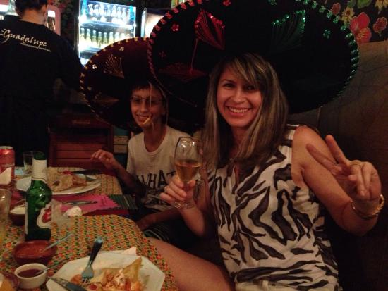 Guadalupe Bar e Restaurante Mexicano: Comida mexicana no restaurante Guadalupe