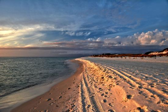 St Joseph Peninsula State Park Sunset On The Beach From