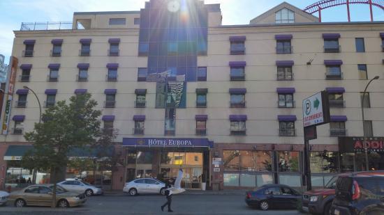Best Western Plus Montreal Downtown Hotel Europa