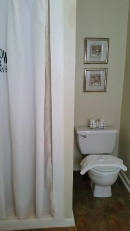 Rockdale, TX: the bathroom