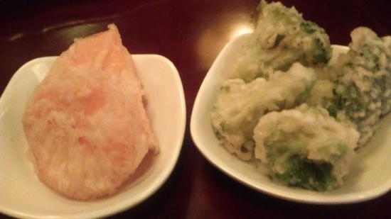Banc Sushi: Légumes tempura