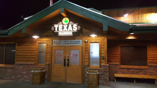 Texas Roadhouse front door & front door - Picture of Texas Roadhouse Sherman - TripAdvisor