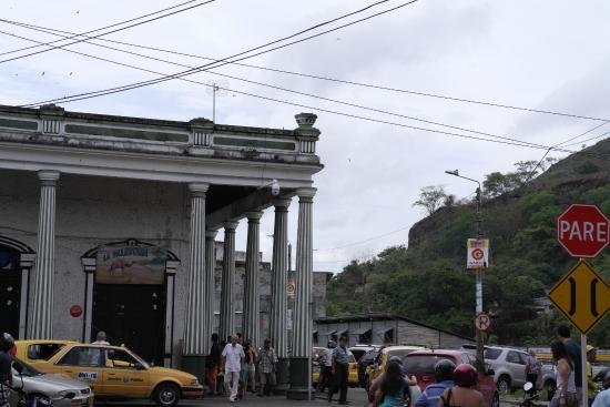 Plaza de Mercado: vista lateral