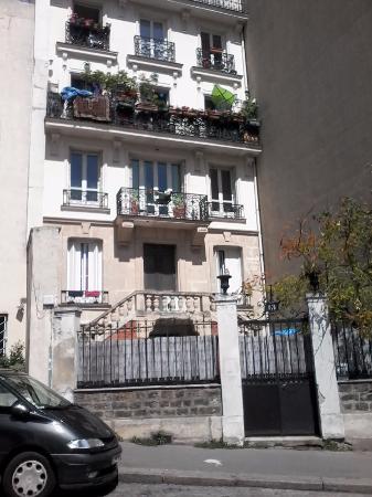 fachada de predio residencial
