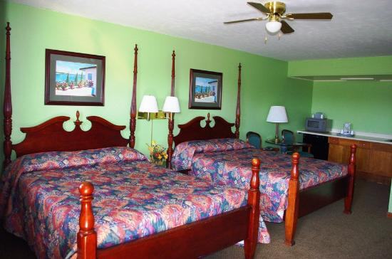 Blue Spruce Motel: Great price for a clean room