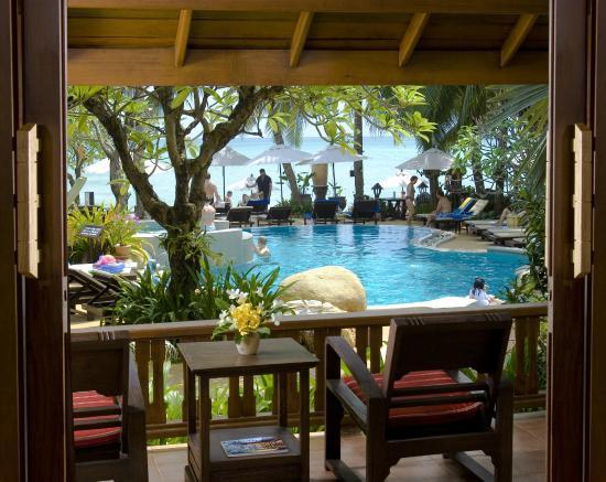 Thai House Beach Resort View For Villa