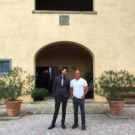 Cortona Resort - Le Terre dei Cavalieri : Le Terre Dei Cavalieri - Marco and Greg