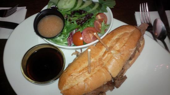 Hummus Bros Restaurant and Lounge: Prime Rib Beef Dip