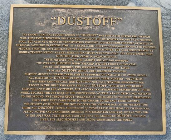 Veterans Memorial Park: DUSTOFF
