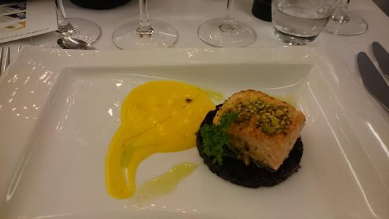 La Rocca : Laks i Safran sause