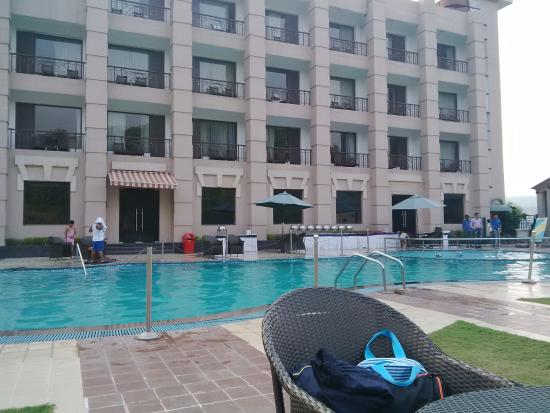 Pool - Chandigarh hotel with swimming pool ...