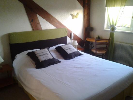 Hotel Le Vieux Fusil : la chambre