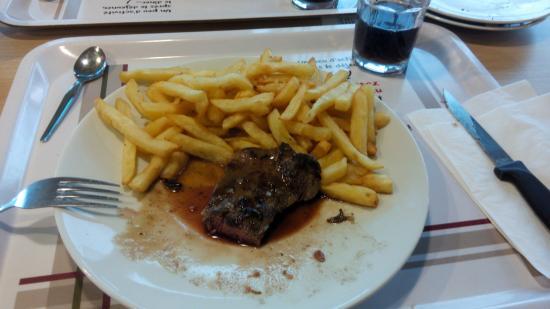 Gonfreville-l'Orcher, Francia: Viande congelé, frites moyennes