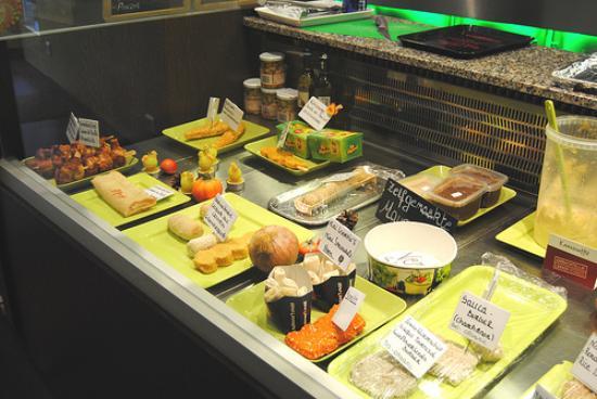 Royal Frituur Veggie Eetboetiek: Еда