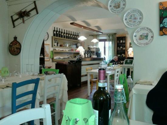 Ristorante tre colli di Montechiaro d'Asti
